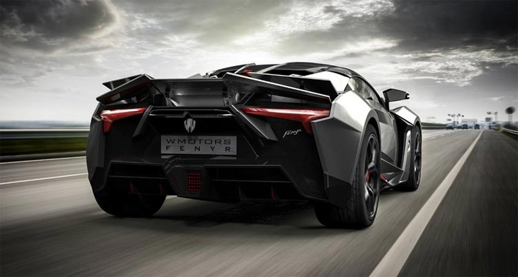 Fenyr SuperSport Back