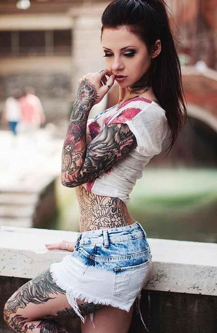 Full Body Tattoos for Girls