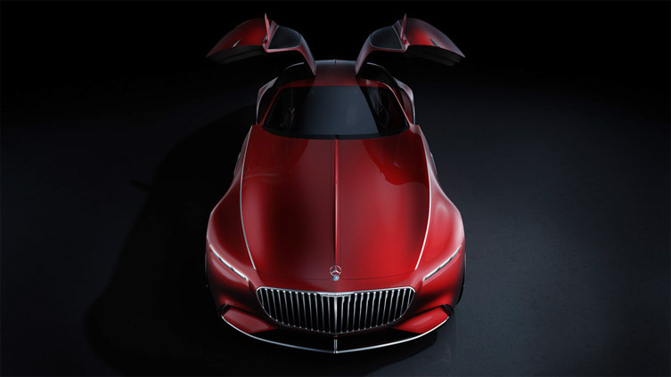 Mercedes Maybach Vision 6 Concept 01