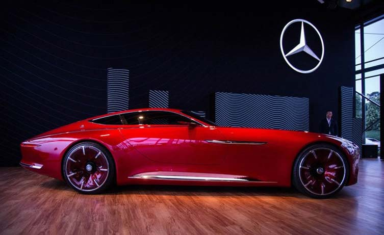 Mercedes Maybach Vision 6 Concept 02