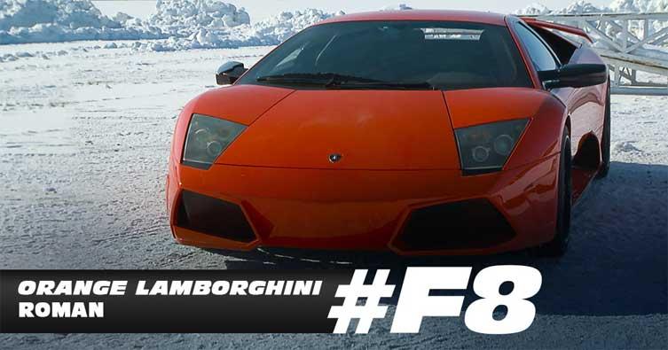 Orange Lamborghini Roman