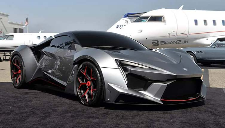 Lykan Hypersport Top View >> 2016 W Motors Fenyr SuperSport - Online Figure