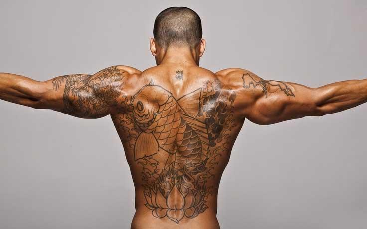 Bodybuilder Boy Tattoos