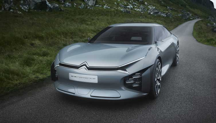 Citroen Made a Station Wagon Concept With Sound Bubbles