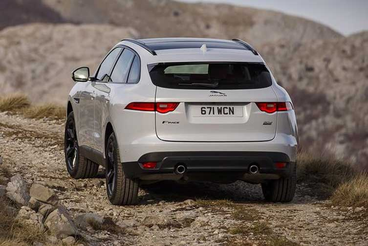 2017 Jaguar F Pace New Car
