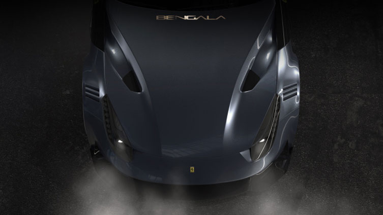 Ferrari F12 Front