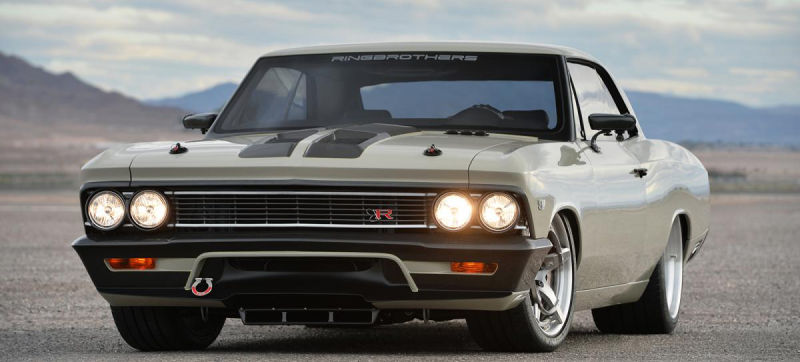 This 980 Horsepower '66 Chevelle Has a Fighter Jet Cockpit