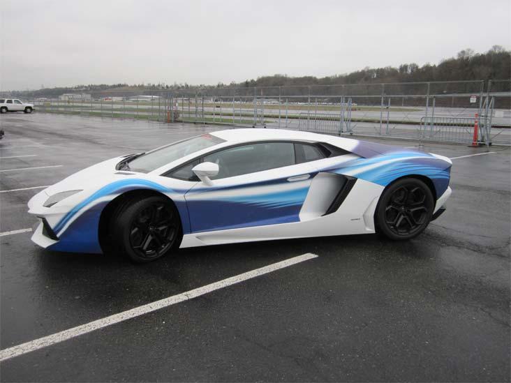 Lamborghini Aventador 01