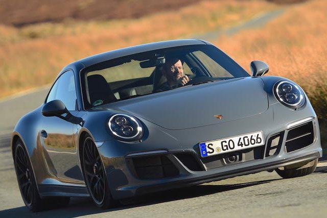 2017 Porsche 911 Carrera 4 GTS Driven