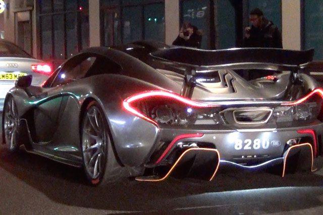Chrome McLaren P1