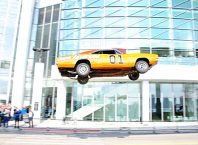 General Lee Dodge Charger Replica Jumps