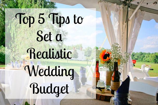 online wedding budget
