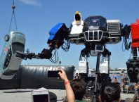 Megabot at Maker Faire 2017
