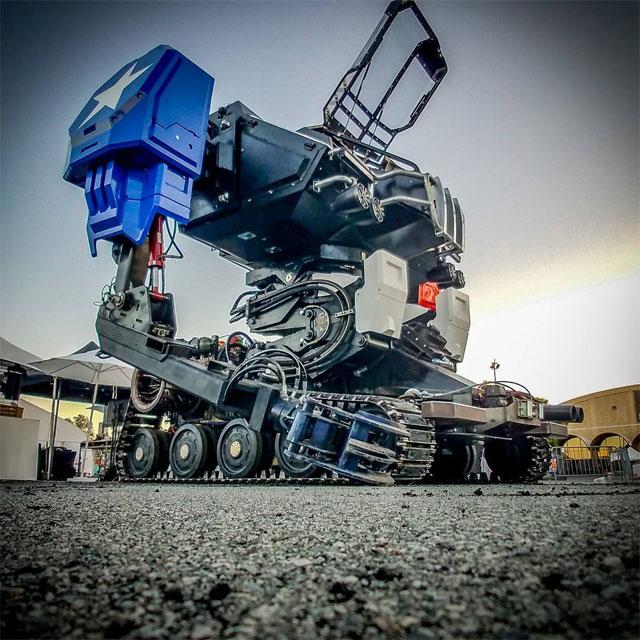 Megabot at Maker Faire