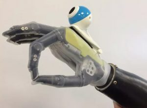 prosthetic hand sees whats in front of it