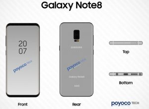 New Galaxy Note 8 Leaks Show Off Features