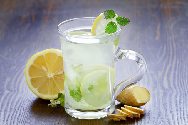 Lime Lemonade With Ginger