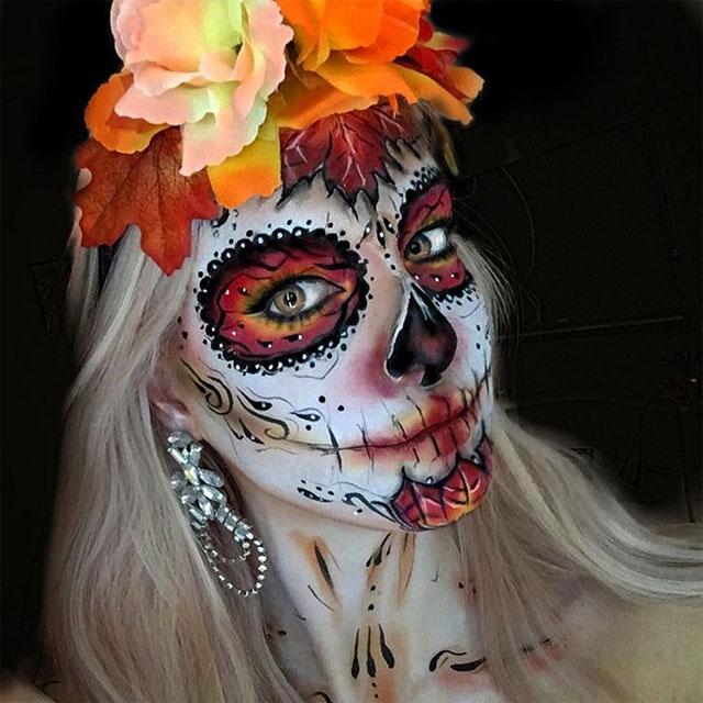 Autumnal Sugar Skull