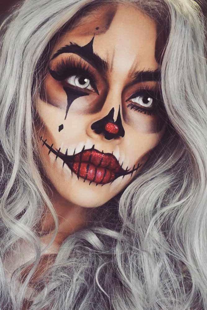Halloween Makeup Looks 01
