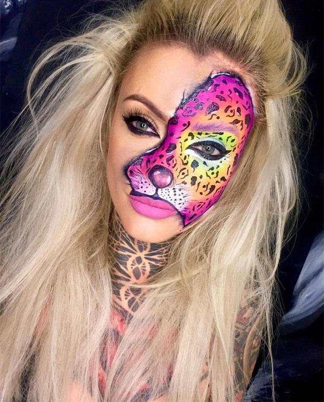 Halloween Makeup Looks 14