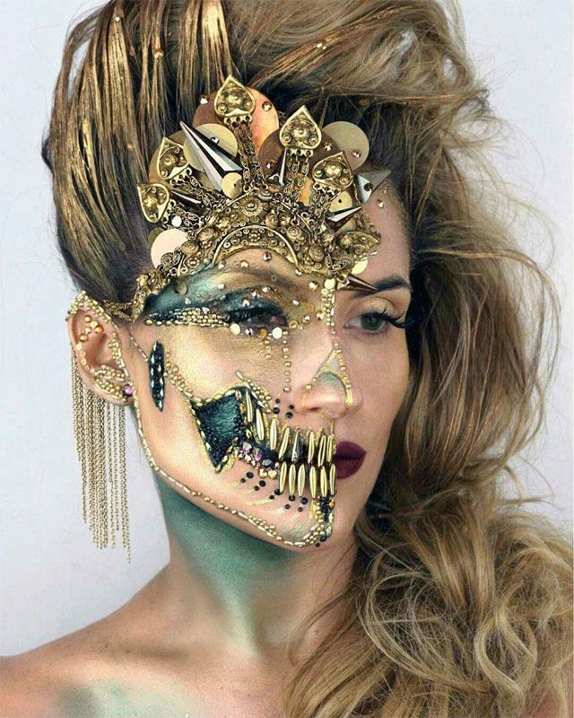 Halloween Makeup Looks 17