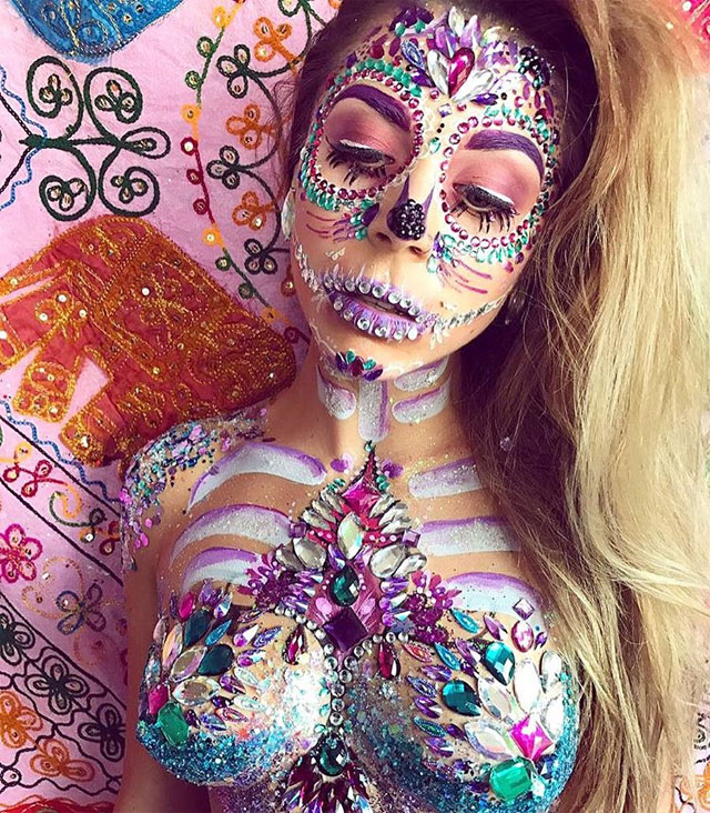 Halloween Makeup Looks 23