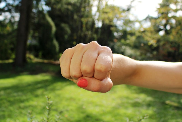 Tighten The Fist or A Ball