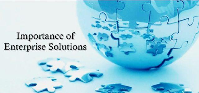 enterprise solution importance