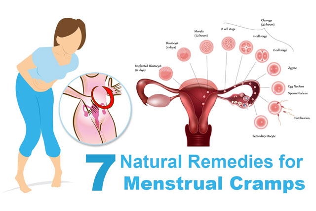 Natural Remedies To Ease Menstrual Cramps