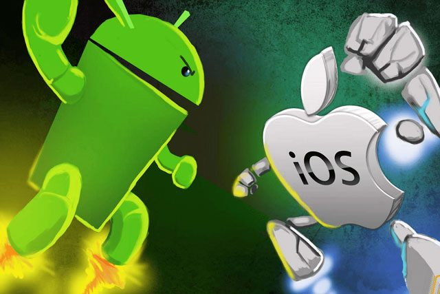 iPhone Beats Android