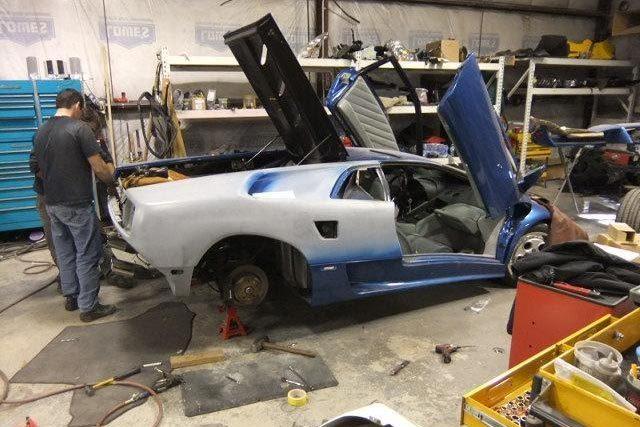 Auto Body Repair Shop