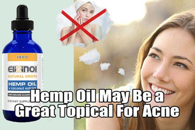 Hemp Oil Keep Acne Under Control