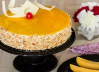 Bake The Mango Mirror Cake