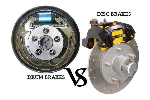 Disc Brakes Are Preferred Over Drum Brakes