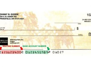 ABA/Routing Number of Wells Fargo Bank
