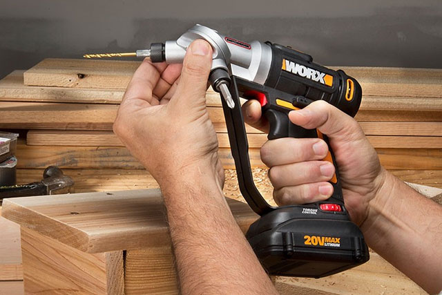 WORX Switch driver 2-in-1 Cordless Drill and Driver with Rotating Dual Chucks