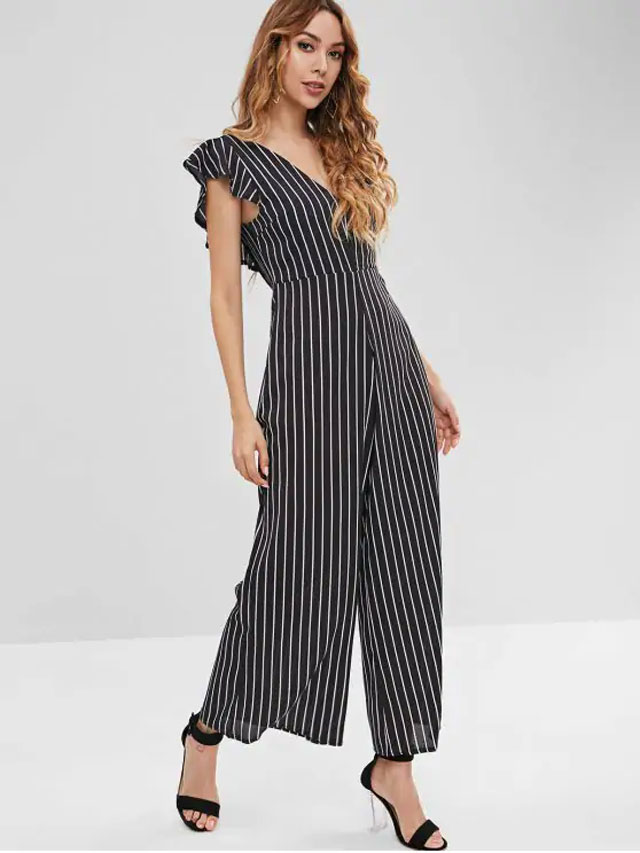Wear A Backless Jumpsuit