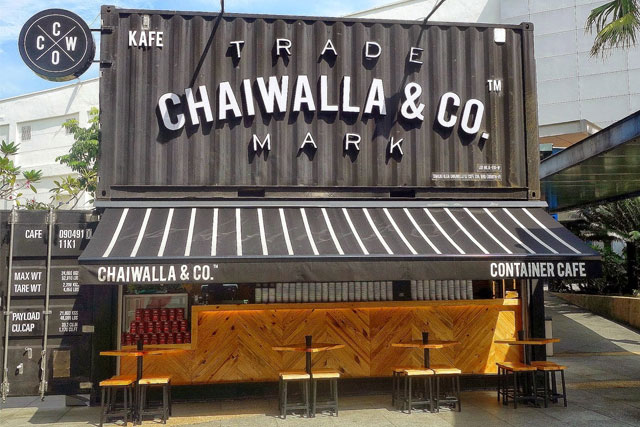 Chaiwalla & Co. Container Cafe