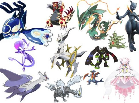 Most Powerful Pokemon