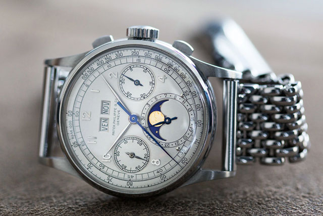 Patek Philippe Ref. 1518 In Stainless Steel