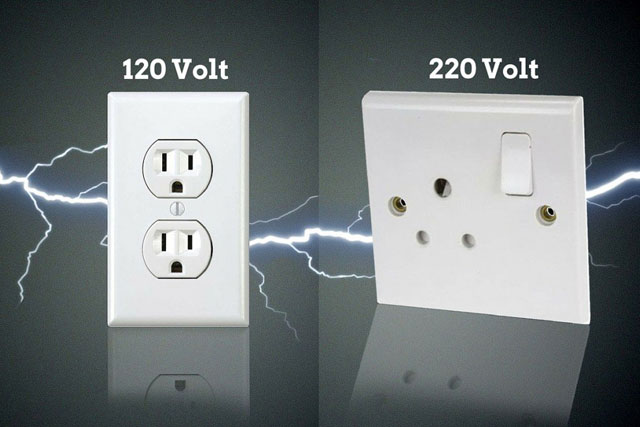 Different Standards Voltage
