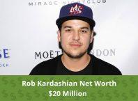 Rob Kardashian Net Worth