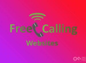 Free Calling Websites