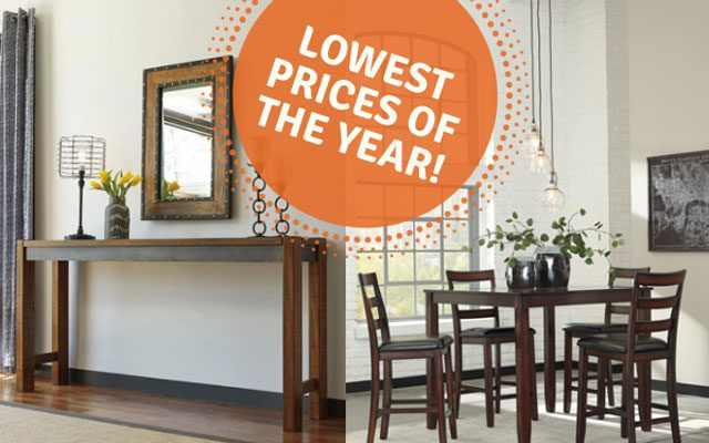 Totally Furniture's Tip For Shopping Without The Headache & Ashley Furniture Holiday Deals