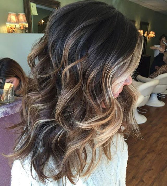 Black to Blonde Balayage