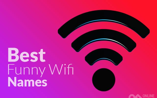 Best Funny Wifi Names For Your Router & Network SSID