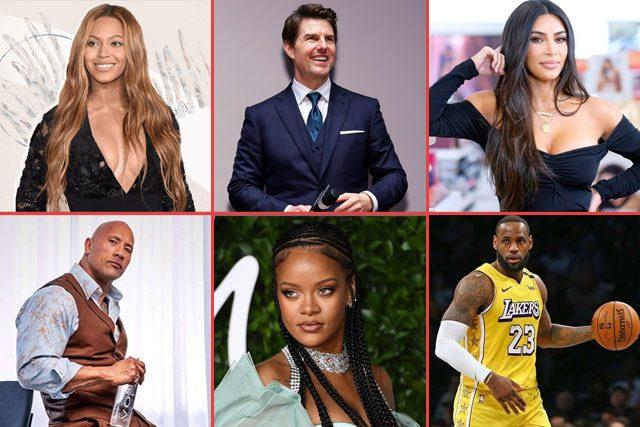 A-List Celebrities - Top 20 Most Powerful Stars List (2020)