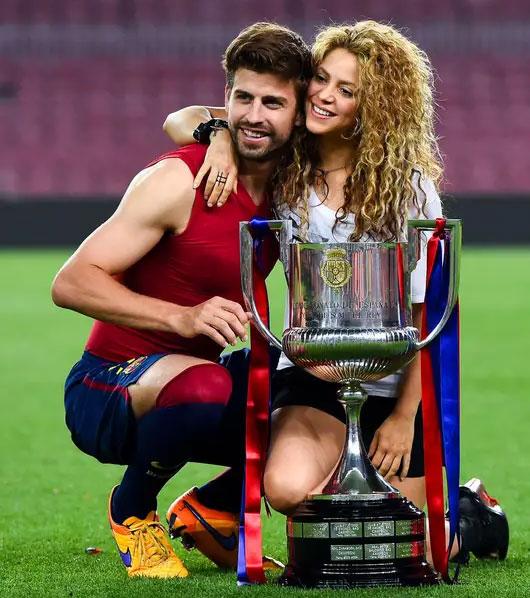 Shakira's partner Gerard Piqué