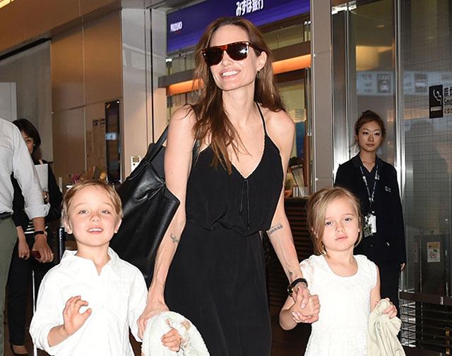 Knox Jolie Pitt and Vivienne Jolie Pitt