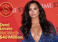 Demi Lovato Net Worth 2020 – $40 Million
